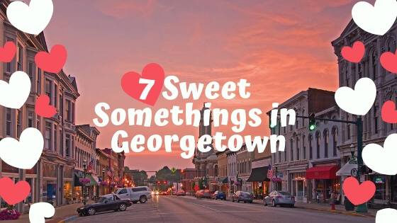 7 Sweet Somethings in Georgetown blog cover