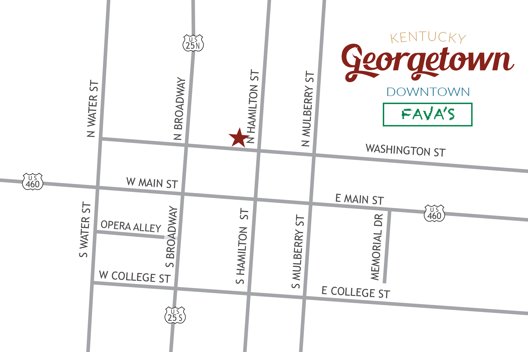 Georgetown DowntownMap